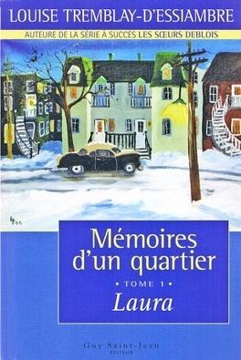 Couverture du livre : Mémoires d'un quartier, tome 1 : Laura