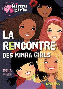 Couverture du livre : Les Kinra Girls, Tome 1 : La Rencontre des Kinra Girls