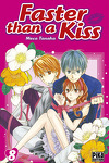 couverture Faster than a kiss, Tome 8