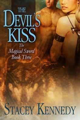 Couverture du livre : Magical Sword, Tome 3 : The Devil's Kiss