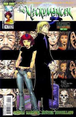 Couverture du livre : The Necromancer, Tome 4 : Lithium Partie 1