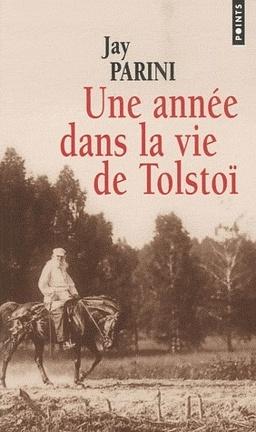 Couverture du livre : Une année dans la vie de Tolstoï