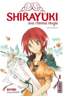 Couverture du livre : Shirayuki aux cheveux rouges, Tome 1