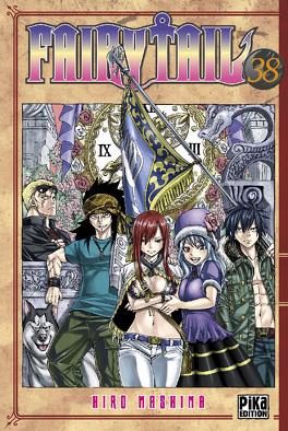 Couverture du livre : Fairy Tail, Tome 38