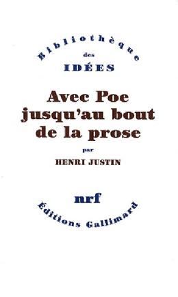 Couverture du livre : Avec Poe jusqu'au bout de la prose