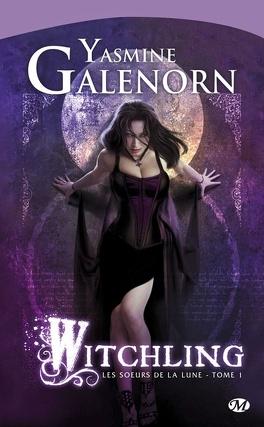 Couverture du livre : Les Sœurs de la lune, Tome 1 : Witchling