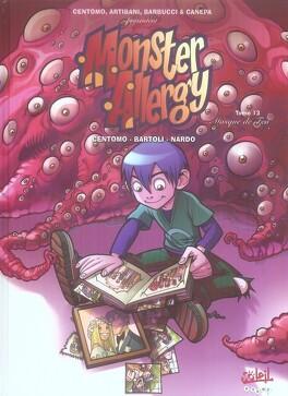 Couverture du livre : Monster Allergy, Tome 13: Masque de feu