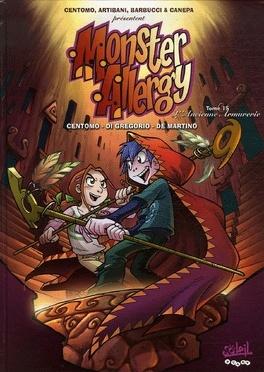 Couverture du livre : Monster Allergy, Tome 15: L'ancienne armurerie