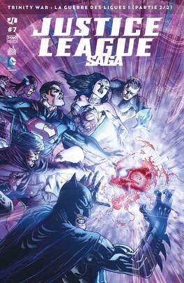 Couverture du livre : Justice League Saga 7