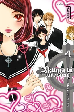 Couverture du livre : Akuma To Love Song, Tome 4