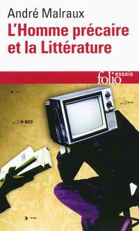 Couverture du livre : L'homme précaire et la littérature