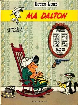 Couverture du livre : Lucky Luke, Tome 38 : Ma Dalton