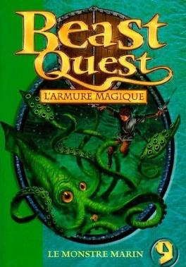 Couverture du livre : Beast Quest, Tome 9 : Le monstre marin