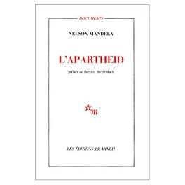 Couverture du livre : L'apartheid