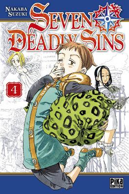 Couverture du livre : Seven Deadly Sins, Tome 4