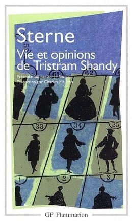 Couverture du livre : Vie et opinions de Tristram Shandy, gentilhomme