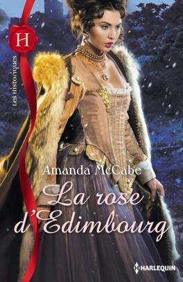 Couverture du livre : La rose d'Edimbourg