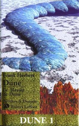 Couverture du livre : Dune, suivi de Le Messie de Dune