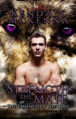 Couverture du livre : L'apprivoisement du loup, Tome 3 : Strength of the Mate