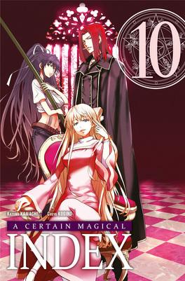 Couverture du livre : A Certain Magical Index, Tome 10