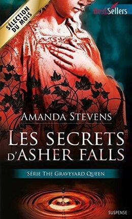 Couverture du livre : The Graveyard Queen, Tome 2 : Les Secrets d'Asher Falls