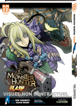 Couverture du livre : Monster Hunter Flash, Tome 4