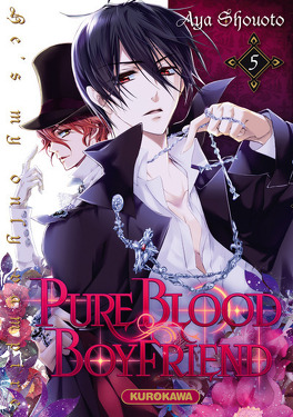 Couverture du livre : Pure blood boyfriend : He's my only vampire, Tome 5