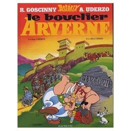 Couverture du livre : Astérix, Tome 11 : Le bouclier Arverne