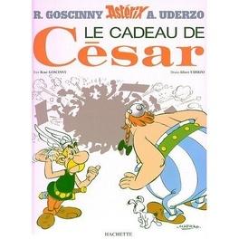 Couverture du livre : Astérix, Tome 21 : Le cadeau de César