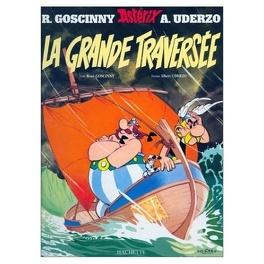 Couverture du livre : Astérix, Tome 22 : La grande traversée
