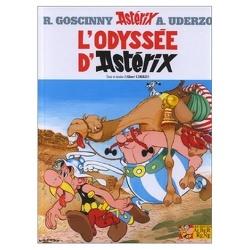 Couverture de Astérix, Tome 26 : L'odyssée d'Astérix