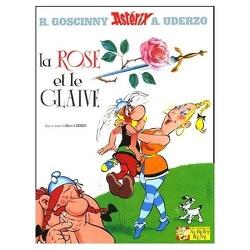 Couverture de Astérix, Tome 29 : La rose et le glaive