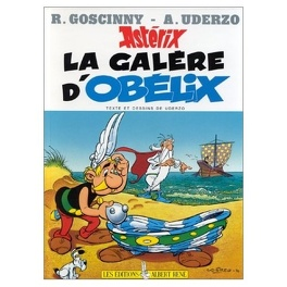 Couverture du livre : Astérix, Tome 30 : La galère d'Obélix