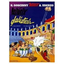 Couverture de Astérix, Tome 4 : Astérix Gladiateur