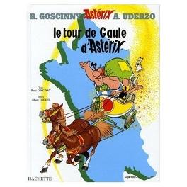 Couverture du livre : Astérix, Tome 5 : Le tour de Gaule