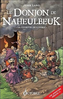 Couverture du livre : Le Donjon de Naheulbeuk, Tome 1 : La Couette de l'oubli