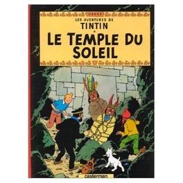 Couverture du livre : Les Aventures de Tintin, Tome 14 : Le Temple du Soleil