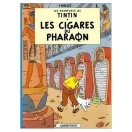 Couverture du livre : Les Aventures de Tintin, Tome 4 : Les Cigares du pharaon