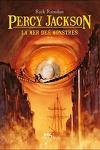 couverture Percy Jackson, Tome 2 : La Mer des monstres