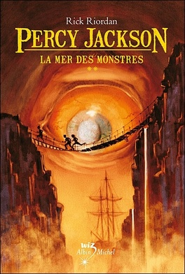Couverture du livre : Percy Jackson, Tome 2 : La Mer des monstres
