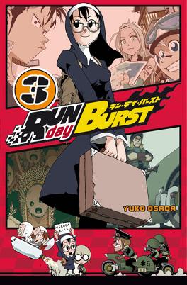 Couverture du livre : Run day Burst, Tome 3
