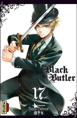 Couverture du livre : Black Butler, Tome 17