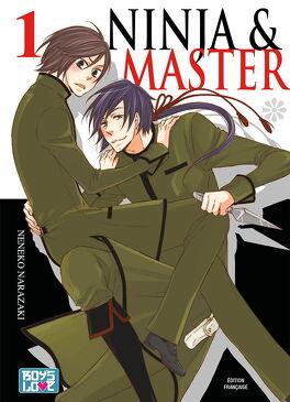 Couverture du livre : Ninja & master, Tome 1
