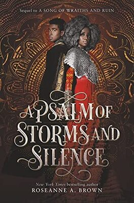 Couverture du livre : A Song of Wraiths and Ruin, Tome 2 : A Psalm of Storms and Silence