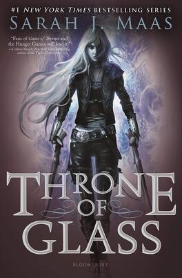Couverture du livre : Throne of glass