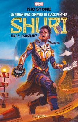 Couverture du livre : Shuri, Tome 2 : Les Disparues