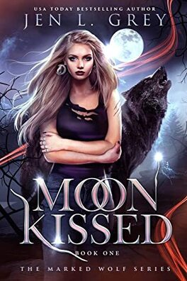 Couverture du livre : The Marked Wolf, Tome 1 : Moon Kissed