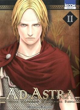 Couverture du livre : Ad Astra : Scipion l'Africain & Hannibal Barca, Tome 2