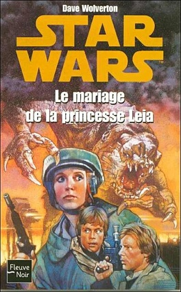 Couverture du livre : Le Mariage de la princesse Leia