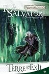 couverture Les Royaumes oubliés - La Légende de Drizzt, Tome 2 : Terre d'exil